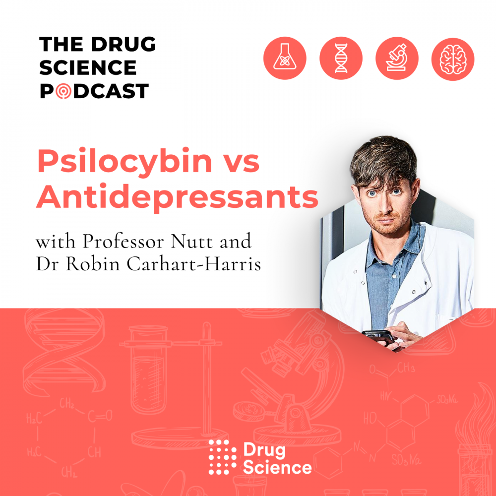 Psilocybin vs SSRI Antidepressants - Robin Carhart-Harris, Imperial Centre for Psychedelic Research